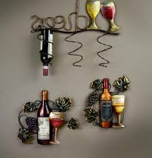 Kitchen Wall Decorating Ideas Kitchen Awesome Cheap Wine And Grapes Kitchen Decor Tuscan Wine