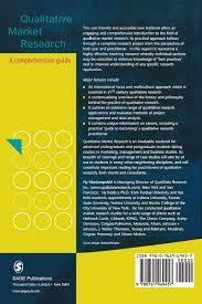 qualitative market research a comprehensive guide amazon co uk