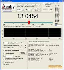 laser measurement sensor triangulating laser displacement sensors