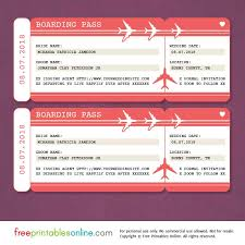 online save the date boarding pass save the date template free printables online