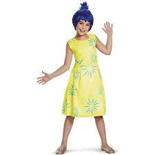 buy disney inside out girls classic joy costume