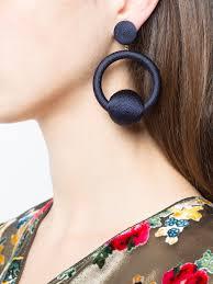 hoop la earrings de ravenel hoop la la earrings kirna zabete