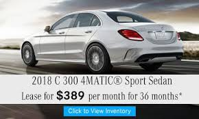 mercedes c300 lease specials car lease special offers mercedes of nanuet