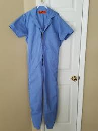 blue mechanic jumpsuit mechanic jumpsuit one coveralls blue size small ebay