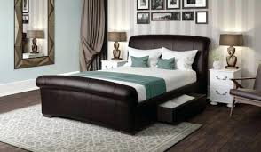 faux bed framebrown faux leather bed frame faux leather bed frame