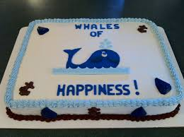 whale baby shower cake whale theme boy baby shower sheet cake cake ideas