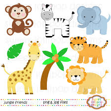 baby jungle animal clip art free baby jungle animal clip art