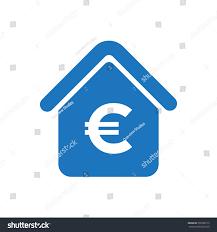 euro house value icon stock vector 596788115 shutterstock