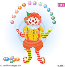 clowns juggling balls clown juggling colorful balls free stock images photos