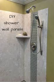 shower shower wall panels beautiful build your own shower pan