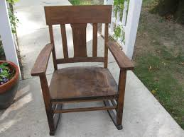 Rocking Chair Runners Murphy Chair Company No 9673 Late 1800s To Early 1900s Oak Antique