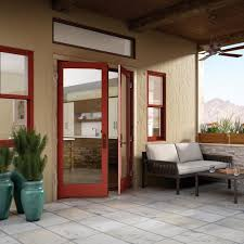 Out Swing Patio Doors Out Swing Swinging Glass Patio Door Essence Series