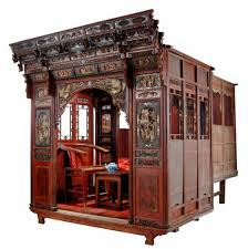 antique canopy bed antique asian furniture rare carved canopy bed with alcove from