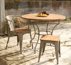 Round Wooden Patio Table by Making Wooden Patio Table U2013 Outdoor Decorations