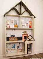 Free Miniature Dollhouse Plans by Free Dollhouse Plans Woodworking Plans And Information At
