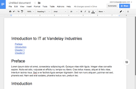 Google Docs Table New Google Docs Features To Improve Your Documentation