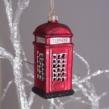 telephone box tree decoration buy uk