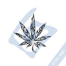 tribal marijuana v1 by sigh on deviantart