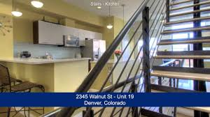 2345 walnut street unit 19 denver colorado loft condo for