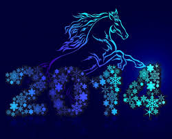 holidays new year horses 2014 wallpapers hd