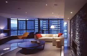 minimalist unique living room design of the small apartment design