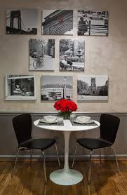 Red Kitchen Table And Chairs Black White U0026 Red Kitchen Eclectic Dining Room Atlanta By