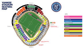 Citi Field Seating Map Yankee Stadium New York Tickets Schedule Seating Charts Goldstar