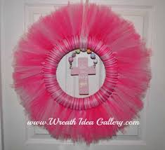 baby shower wreath tulle baby shower wreath
