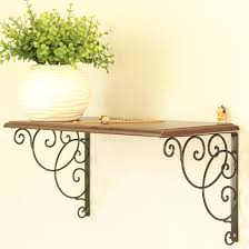 Wood Shelf Brackets Decorative Decorative Wood Shelves Decorative Shelves To Be Your Wall Focal