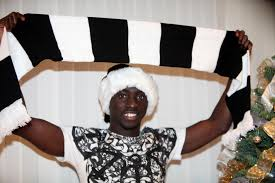 newcastle united striker papiss cisse throws a christmas party for