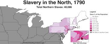Southern United States Map by Slavery In The Northern United States 1790 To 1860 Armchair Atlas