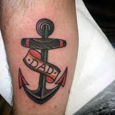 40 small anchor tattoo designs for men manly miniature ink ideas