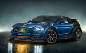 Ford Mustang Shelby Gt350 Sports Car 4k Wallpaper Cars