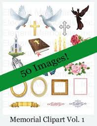 Where To Print Funeral Programs Funeral Program And Memorial Clipart Vol 1 Funerals Pinterest
