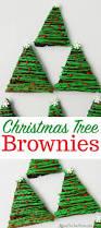 christmas tree brownies simple kids u0027 party treat idea