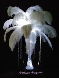 Wedding Centerpieces With Crystals by Best 25 Feather Centerpieces Ideas On Pinterest Ostrich Feather