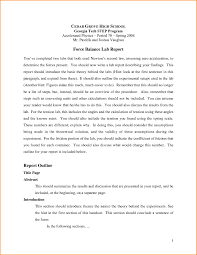lab report template middle school lab report template middle school unique writing college
