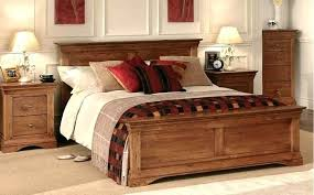Bed Frame Buy Oak Bed Frame Annaghmore Harvest Rustic Darker Buy At