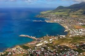 basseterre bay in basseterre st kitts island saint kitts and