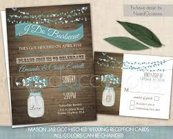 rustic mason jar wedding invitations free printable invitation