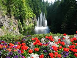 butchart gardens brentwood bay canada world love flowers