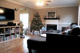 normal living room with tv decorating clear