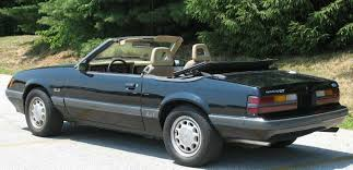 Black Mustang Gt Convertible For Sale Black 1985 Ford Mustang Gt Convertible Mustangattitude Com Photo