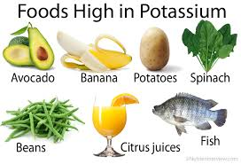 how much potassium is good for you high low potassium foods lists