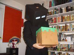 Enderman Halloween Costumes Minecraft Enderman Halloween Costume Kid Fun