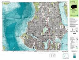 Map Of Seattle Seattle North Topographic Map Wa Usgs Topo Quad 47122f3