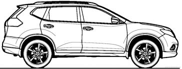 nissan x trail 2014 the blueprints com blueprints u003e cars u003e nissan u003e nissan x trail