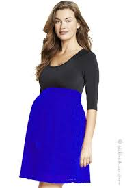 maternal america maternal america scoop neck front tie dress