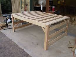 nice low loft bed full free woodworking plans to build a full