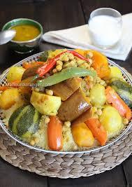 cuisine marocaine couscous couscous aux légumes cuisine marocaine orientale ma fleur d
